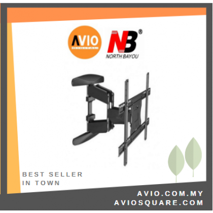 """NB P6 40"""" to 70"""" inch TV Cantilever Mount ( Double Arm ) Bracket"""