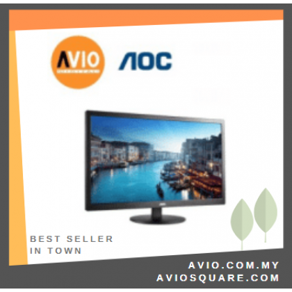 "AOC M2470SWH 24"" 24 inch LED Full HD Computer Monitor"