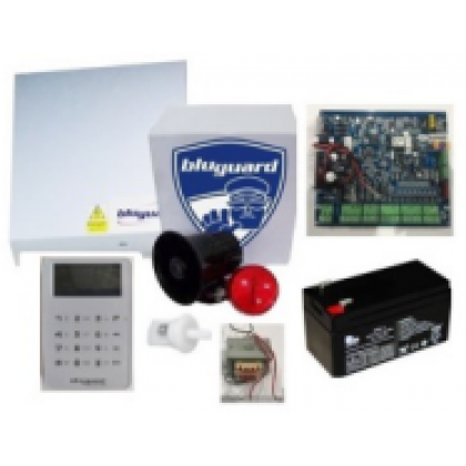 Bluguard V16N TOUCH Package 8+1 zone Alarm Package