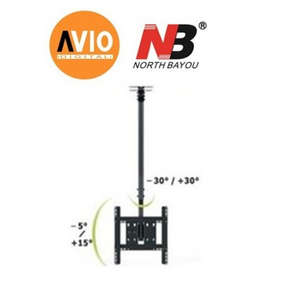 NB NBT560-15 Flat Panel TV Ceiling Mount Bracket 32 to 57 inch