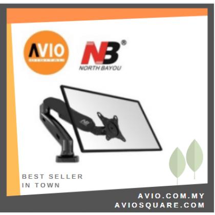 NB F80 17 to 27 inch Single monitor Arm mount Bracket